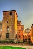 Castello di San Giorgio in Mantua Stockbilder