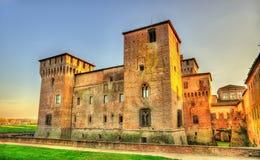 Castello di San Giorgio in Mantua Stockfotos