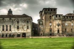 Castello di San Giorgio (palazzo ducale) a Mantova, Italia Immagini Stock