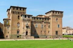 Castello Di San Giorgio Palazzo Ducale w Mantua, (Ducal pałac) obrazy royalty free