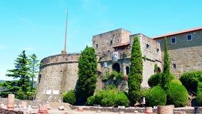 Castello di San Giusto a Trieste, Italia video d archivio