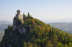 Castello di San Marino immagini stock