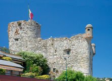 Castello di Santa Margherita Ligure (1550), Santa  Stock Image