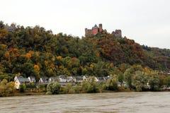 Castello di Schönburg Fotografia Stock Libera da Diritti