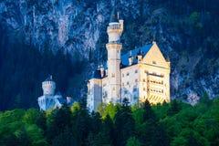 Castello di Schloss il Neuschwanstein, Germania Immagini Stock Libere da Diritti