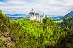 Castello di Schloss il Neuschwanstein, Germania Fotografie Stock Libere da Diritti
