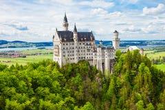 Castello di Schloss il Neuschwanstein, Germania Immagini Stock