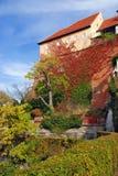Castello di Schlossberg a Graz - l'Austria Immagini Stock Libere da Diritti