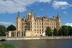 Castello di Schwerin Fotografia Stock