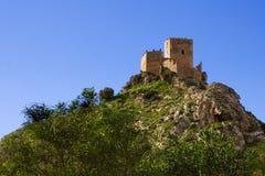Castello di Serravalle immagine stock
