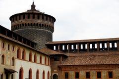 Castello di Sforza Fotografia Stock