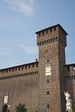 Castello di Sforza, Milano, Italia Fotografia Stock