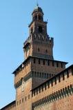 Castello di Sforzesco, Milano Fotografia Stock Libera da Diritti