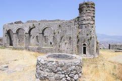 Castello di shkoder Albania Europa Immagini Stock Libere da Diritti