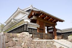 Castello di Shoryuji Fotografie Stock