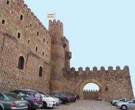 Castello di Siguenza Immagini Stock Libere da Diritti
