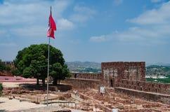 Castello di Silves Fotografia Stock