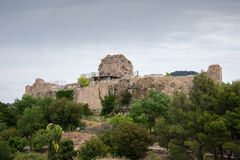 Castello di Siurana Fotografia Stock Libera da Diritti