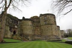 Castello di Skipton in Skipton nel distretto del codardo di North Yorkshire, Inghilterra Immagine Stock Libera da Diritti