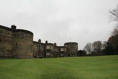 Castello di Skipton in Skipton nel distretto del codardo di North Yorkshire, Inghilterra Fotografie Stock