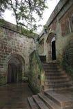 Castello di Skipton in Skipton nel distretto del codardo di North Yorkshire, Inghilterra Fotografie Stock Libere da Diritti