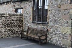 Castello di Skipton in Skipton nel distretto del codardo di North Yorkshire, Inghilterra Immagini Stock Libere da Diritti