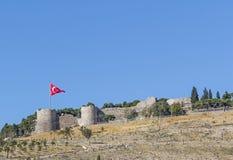 Castello di Smirne (Smyrana) Fotografie Stock Libere da Diritti