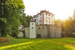 Castello di Sneznik Fotografia Stock Libera da Diritti