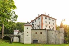 Castello di Sneznik Fotografie Stock Libere da Diritti