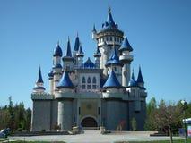 Castello di sogno del parco di Eskisehir Sazova fotografia stock