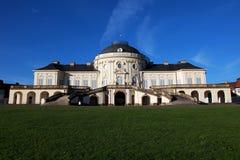 Castello di solitudine a Stuttgart Immagini Stock Libere da Diritti