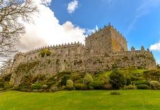 Castello di Sotomayor - Galizia, Spagna Immagini Stock Libere da Diritti