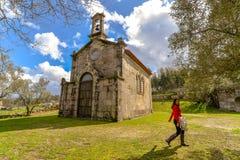 Castello di Sotomayor - Galizia, Spagna Fotografie Stock