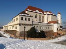Castello di Spilberk a Brno Fotografia Stock