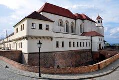 Castello di Spilberk, Brno, repubblica Ceca, Europa Fotografie Stock