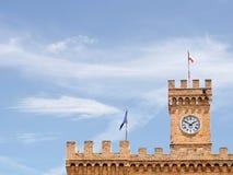 Castello di Spinucci a Chieti (Italia) fotografie stock