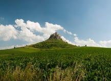 Castello di Spis, ské Podhradie del ¡ di SpiÅ Fotografia Stock Libera da Diritti