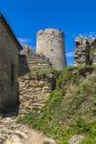 Castello di Spis in Slovacchia Fotografie Stock Libere da Diritti