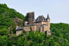Castello di Stahleck Fotografia Stock Libera da Diritti
