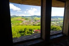 Castello di Stara Lubovna Immagine Stock