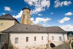 Castello di Stara Lubovna Fotografia Stock Libera da Diritti