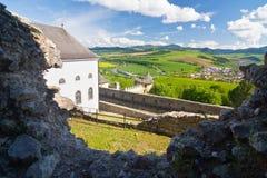 Castello di Stara Lubovna, Slovacchia Fotografia Stock Libera da Diritti