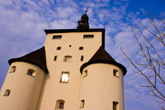 Castello di stiavnica di Banska Fotografia Stock Libera da Diritti