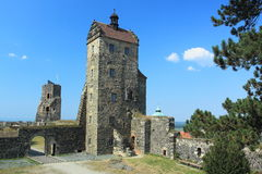 Castello di Stolpen Immagine Stock