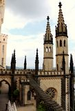 Castello di Stolzenfels a Coblenza, Germania immagine stock