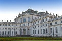 Castello di Stupinigi vicino a Torino, Italia Fotografie Stock Libere da Diritti