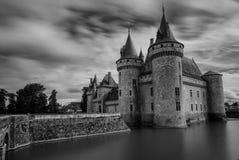 Castello di Sully-sur-Loire, regione della Loira, Francia Immagini Stock Libere da Diritti