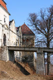 Castello di Svirz, Ucraina Fotografia Stock