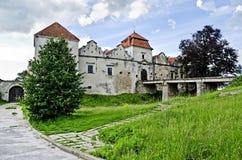 Castello di Svirzh Fotografie Stock