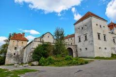 Castello di Svirzh vicino Leopoli, L'vov, Ucraina Fotografie Stock